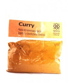 "Curry, Mix de 20 especies 100 gr. ""Apana"""