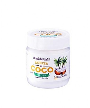 "Aceite de Coco Virgen x 225 ml ""Good Bless You"""