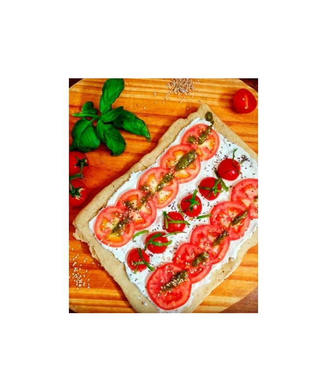 Pizza de Arroz Integral  ''Club Gluten Free''